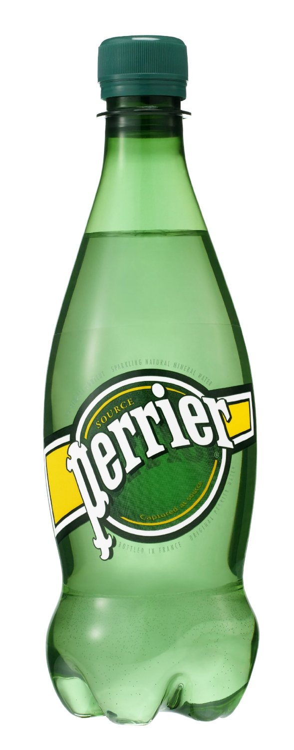 Perrier PET bottle design by Yannick Lenormand at Dragon Rouge