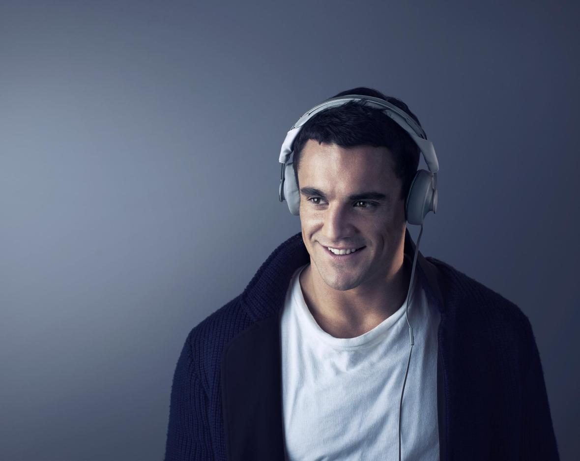 Dan Carter as a brand ambassador for Philips headphones , 2012